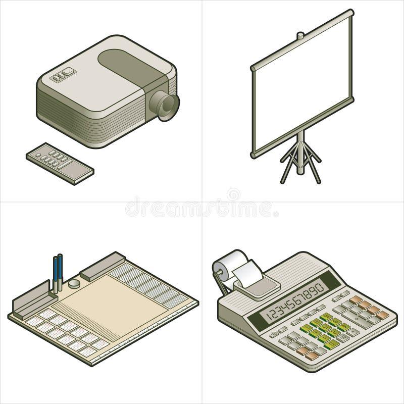 элементы p конструкции 17c иллюстрация вектора