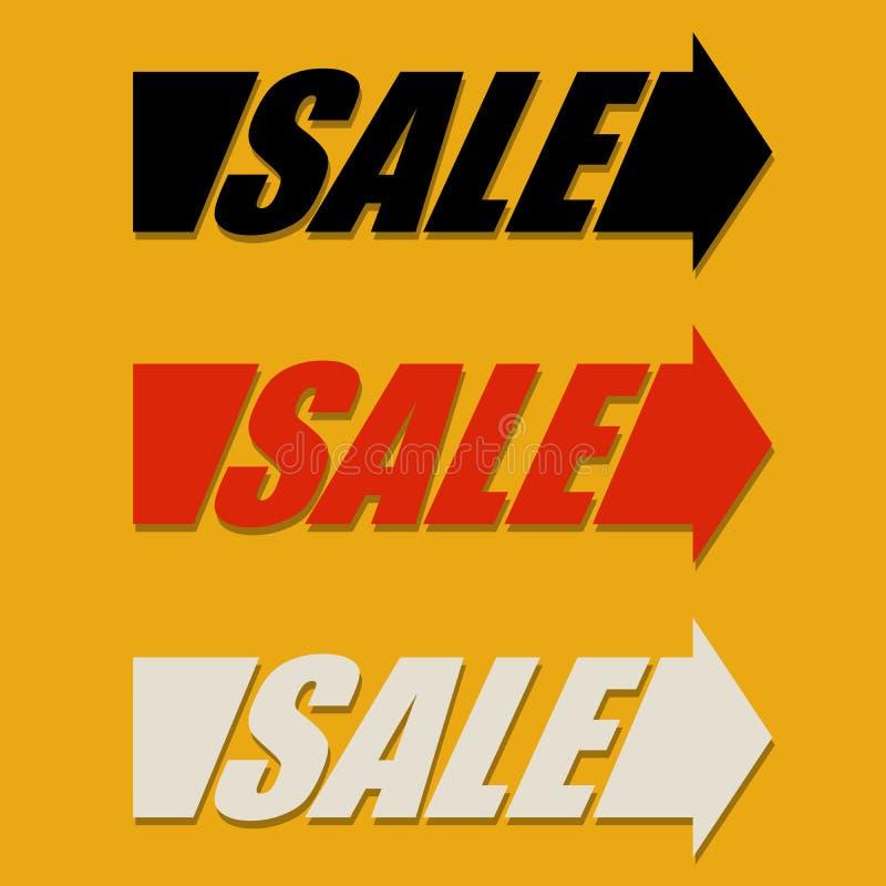 Элемент дизайна стрелки продажи бесплатная иллюстрация