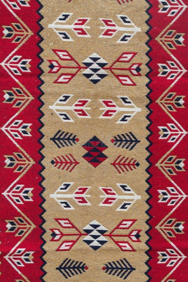 Элемент кавказской картины kilim стоковые фото