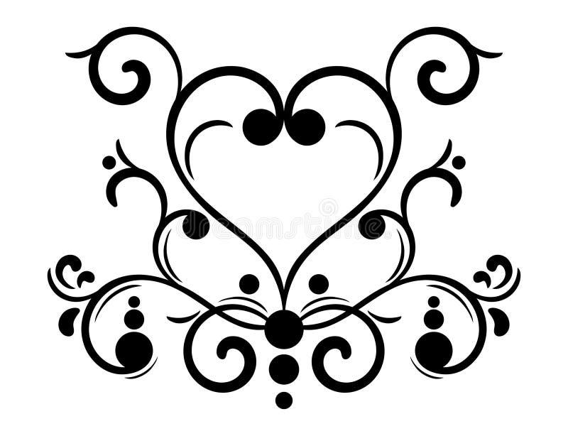 Download элемент конструкции иллюстрация вектора. иллюстрации насчитывающей сердце - 6860114
