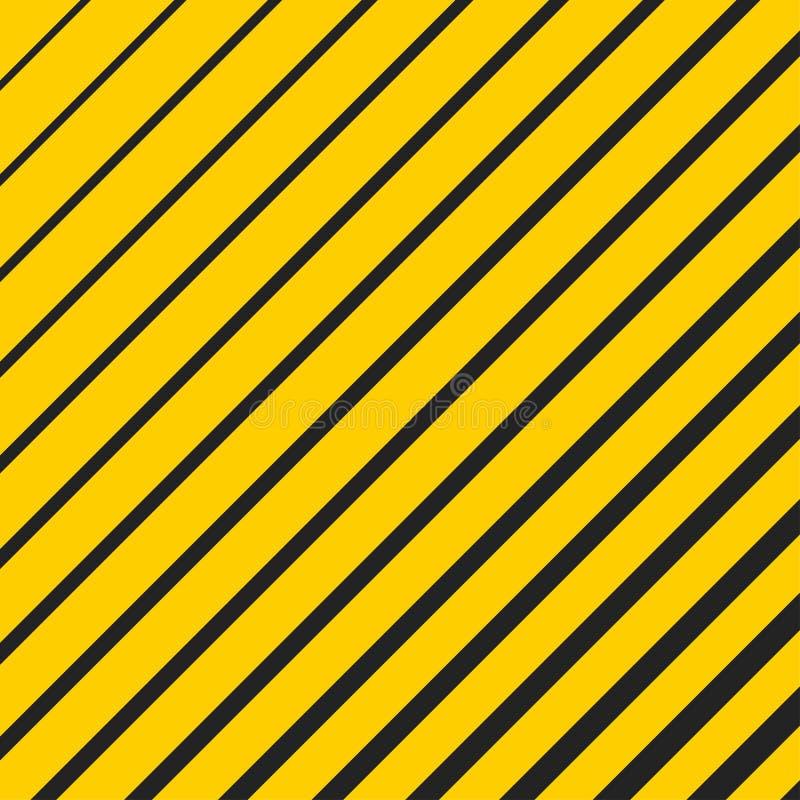 Элемент обмана зрения раскосный желтый иллюстрация вектора