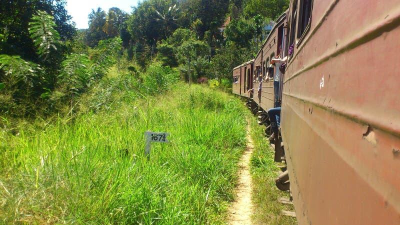 Элла ralway Шри-Ланка стоковые изображения
