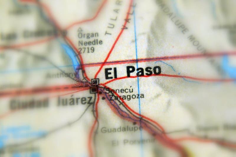 Эль-Пасо, город в u S стоковые изображения rf