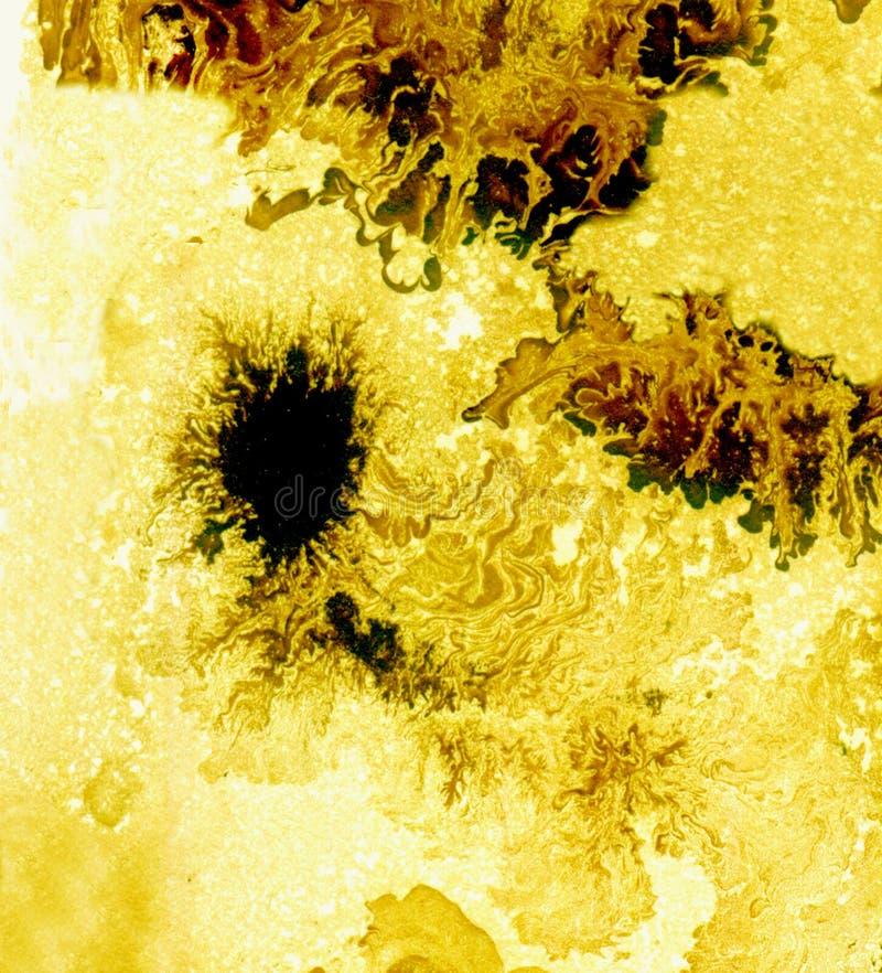 Эмаль кислотно-желтого бесплатная иллюстрация