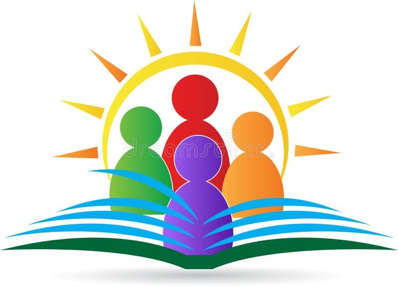 Эмблема школы иллюстрация штока