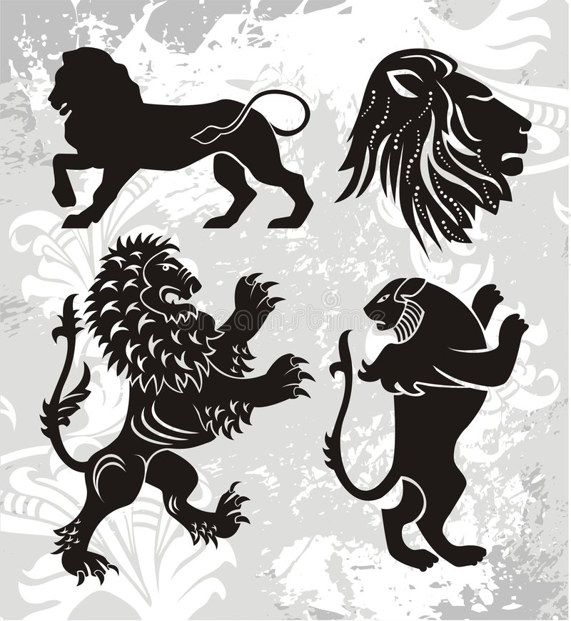 эмблема элементов иллюстрация штока