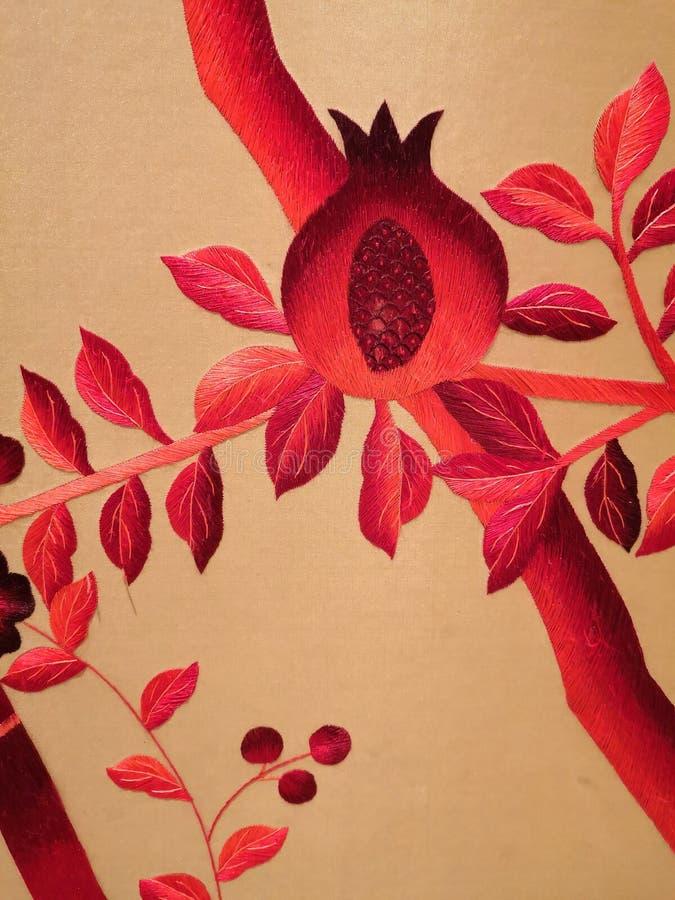 Эмброверийские работы из Китая стоковые фото