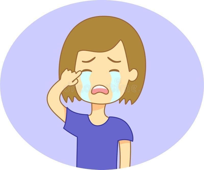 Эмоции девушки стоковые фото