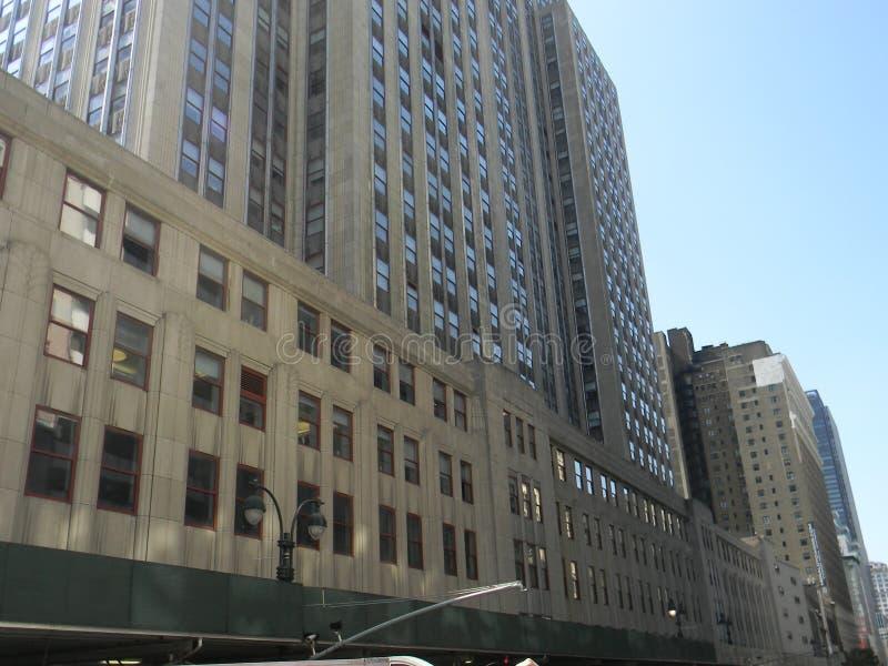 Эмпайры Стейты Билдинги, в переднем NYC стоковое фото