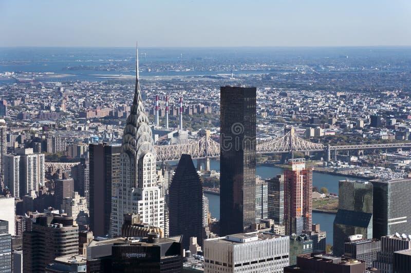 Эмпайр Стейт Билдинг Манхаттан Нью-Йорк стоковая фотография