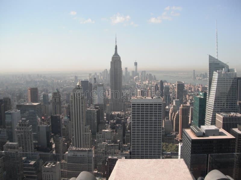 Эмпайр Стейт Билдинг - Нью-Йорк стоковое изображение rf