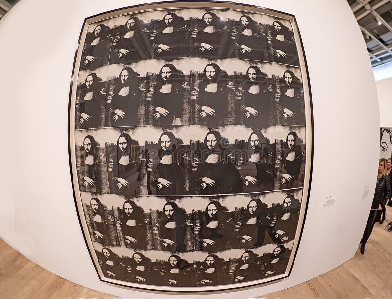 Энди Уорхол--От a к b и назад снова на музее Whitney стоковое изображение rf