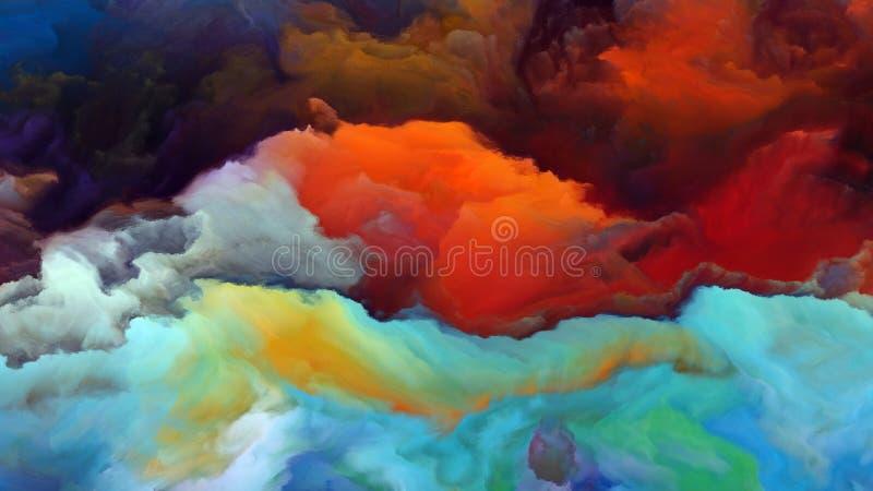 Download Энергия атмосферы чужеземца Иллюстрация штока - иллюстрации насчитывающей облако, backhoe: 81803619
