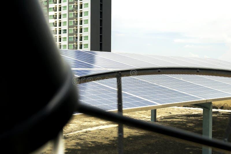 Энергия будущего фотоэлемента стоковое фото