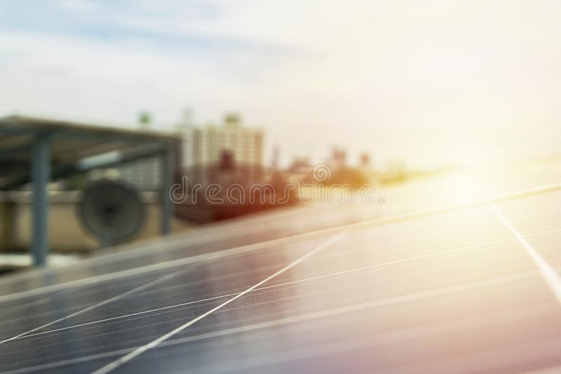 Энергия будущего фотоэлемента стоковые изображения rf