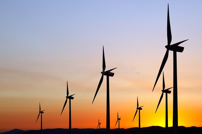Энергия ветра стоковые фото