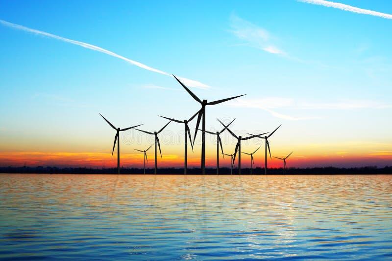 Энергия ветра Eco стоковая фотография