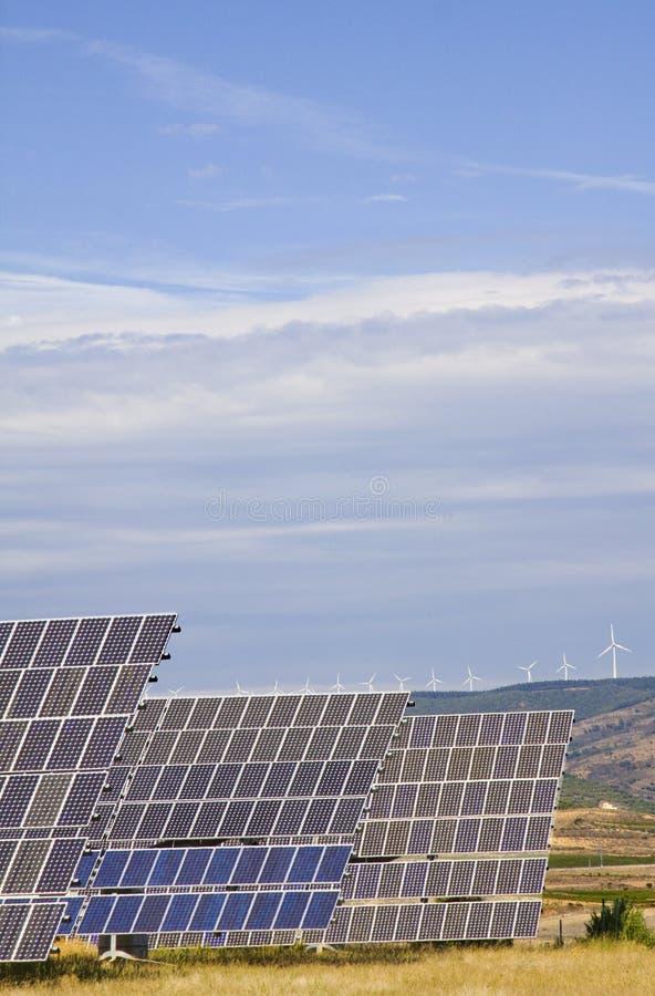 энергия солнечная стоковое изображение rf