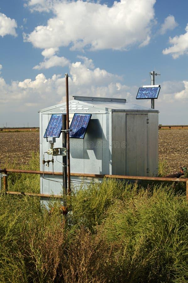 энергия солнечная стоковая фотография rf