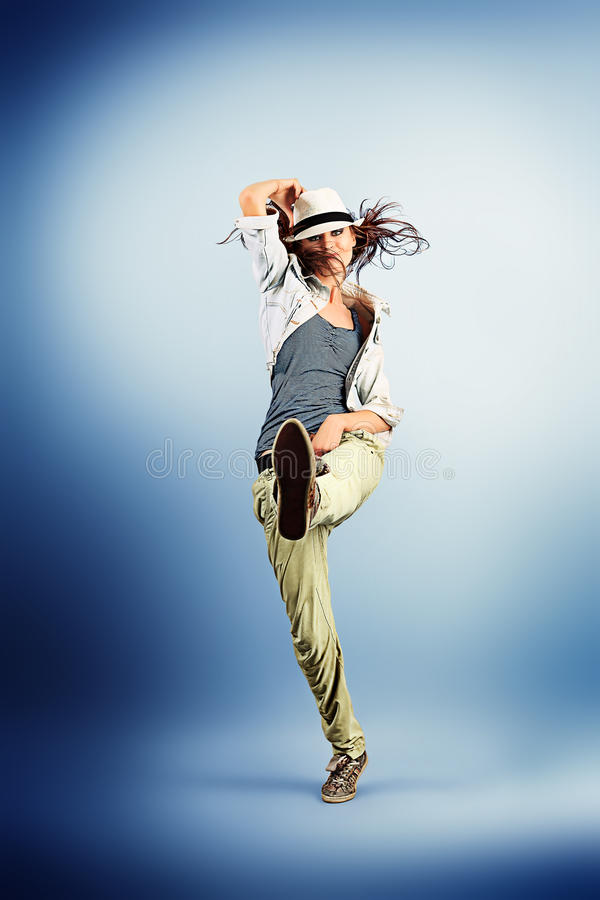 энергия танцульки стоковая фотография rf