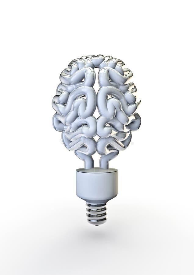энергия шарика мозга иллюстрация штока