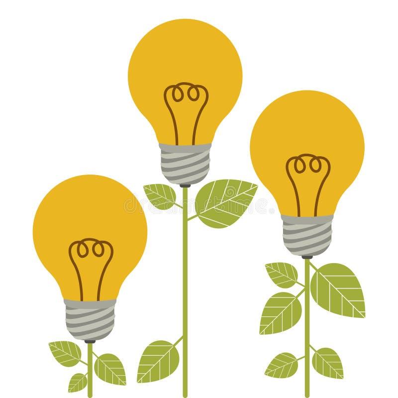 Энергосберегающий дизайн бесплатная иллюстрация