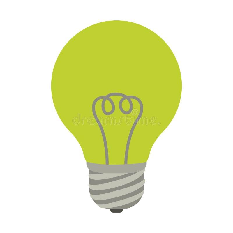 Энергосберегающий дизайн иллюстрация штока
