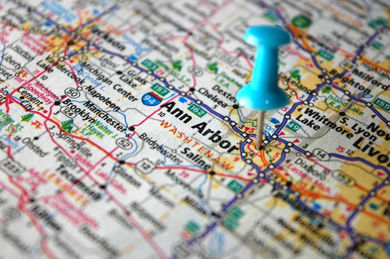 Энн Арбор, Мичиган стоковая фотография