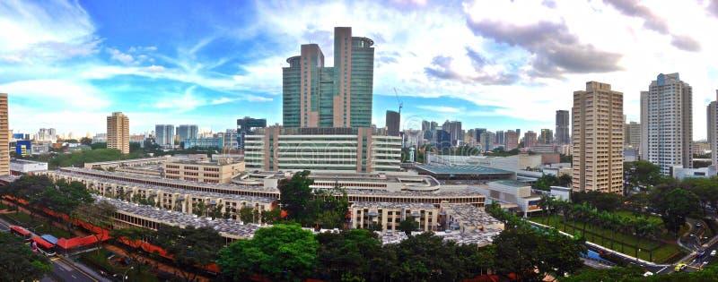 Эпицентр деятельности HDB на Toa Payoh, Сингапуре стоковое изображение
