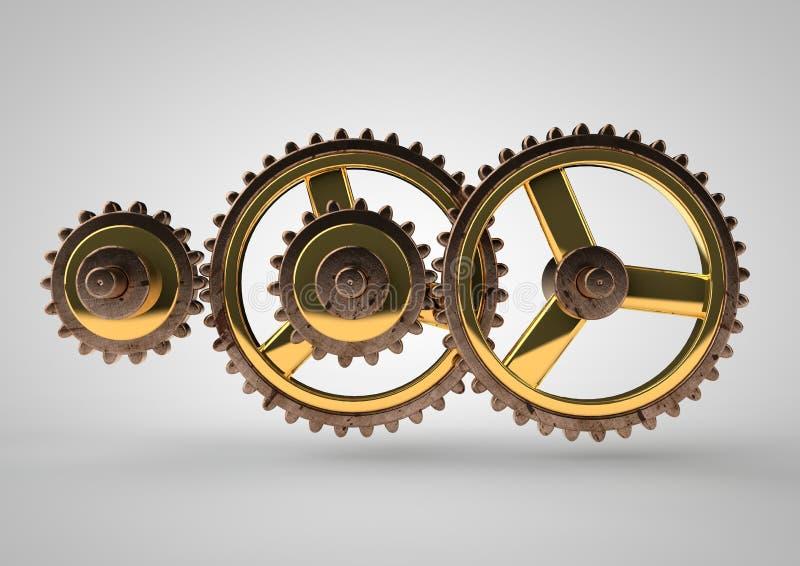 Эпициклическая шестерня стоковые изображения rf