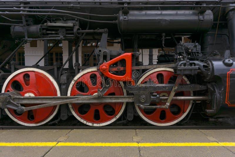 Эпоха больших железных машин стоковая фотография