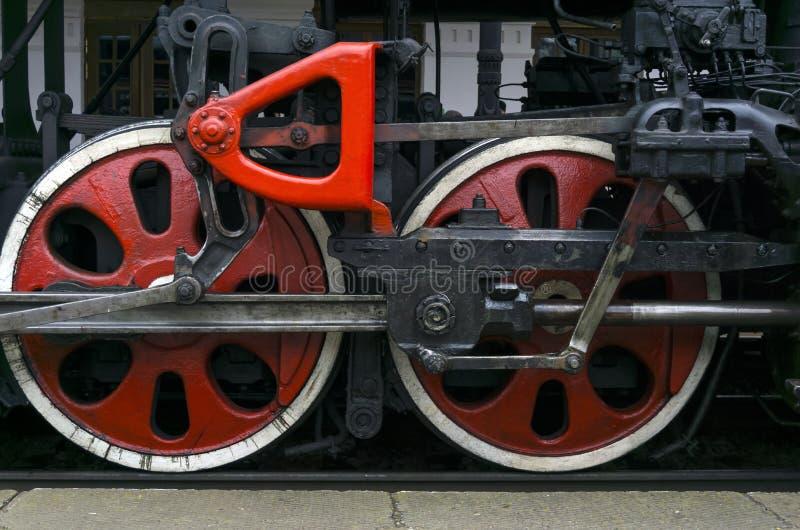 Эпоха больших железных машин стоковое изображение