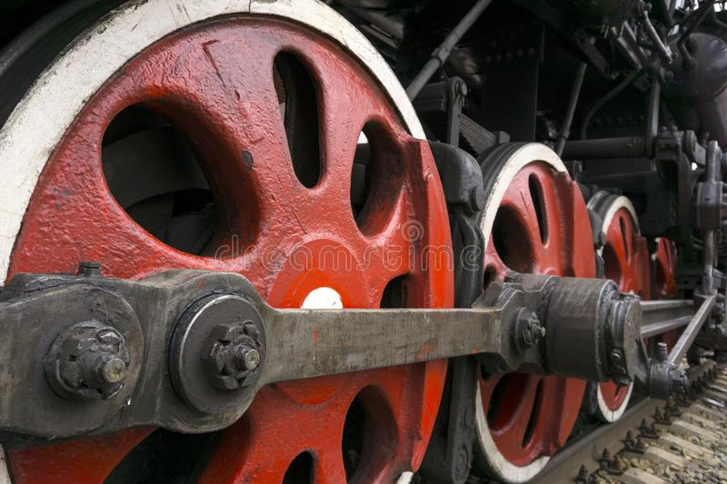 Эпоха больших железных машин стоковые изображения rf