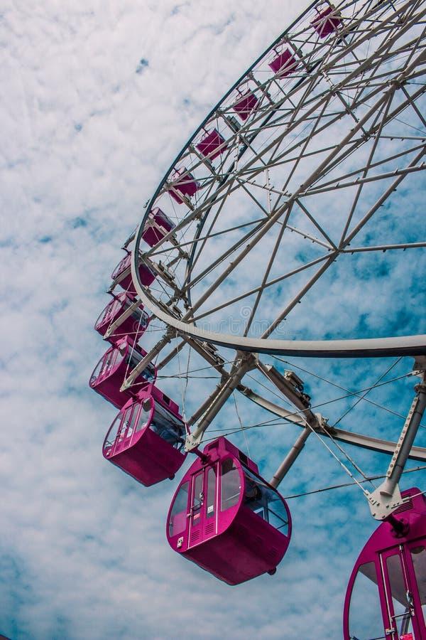 Эпоха Cakung колеса Ferris стоковое изображение