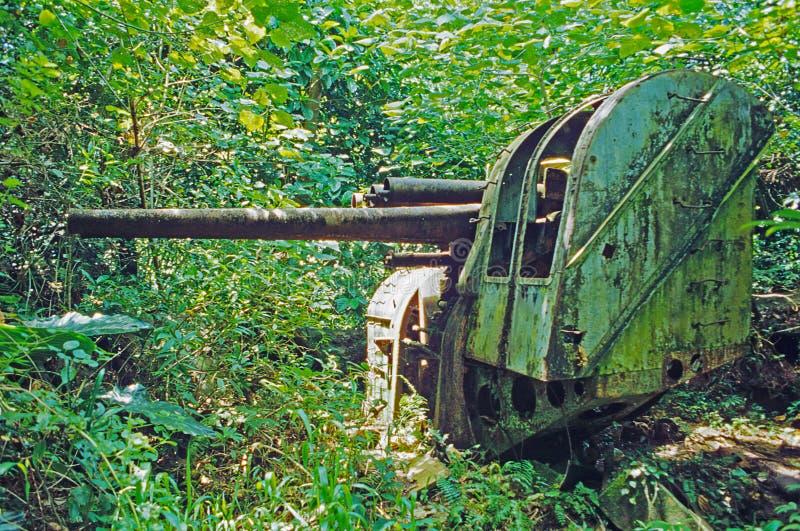 эра дает полный газ миру войны pohnpei острова ii японскому стоковое изображение