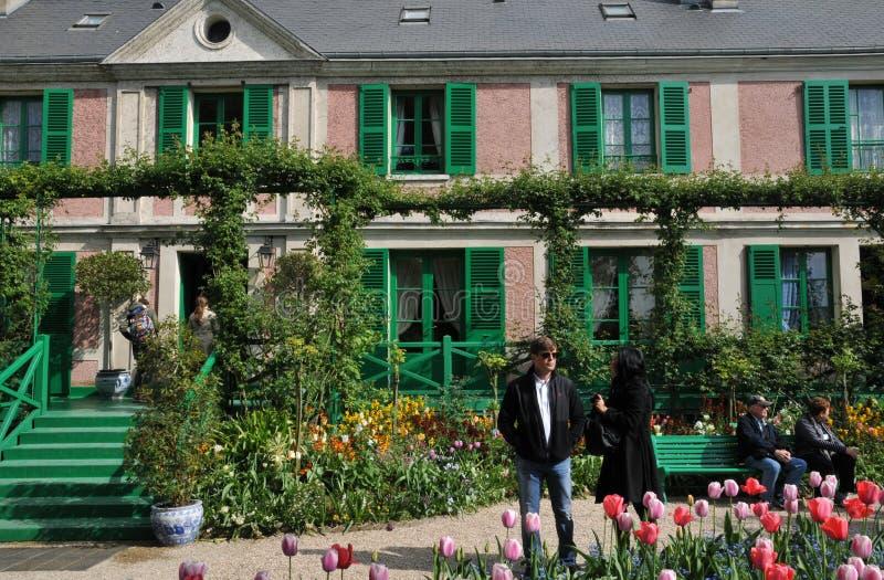 Эр, дом Monet в Giverny в Normandie стоковые фотографии rf