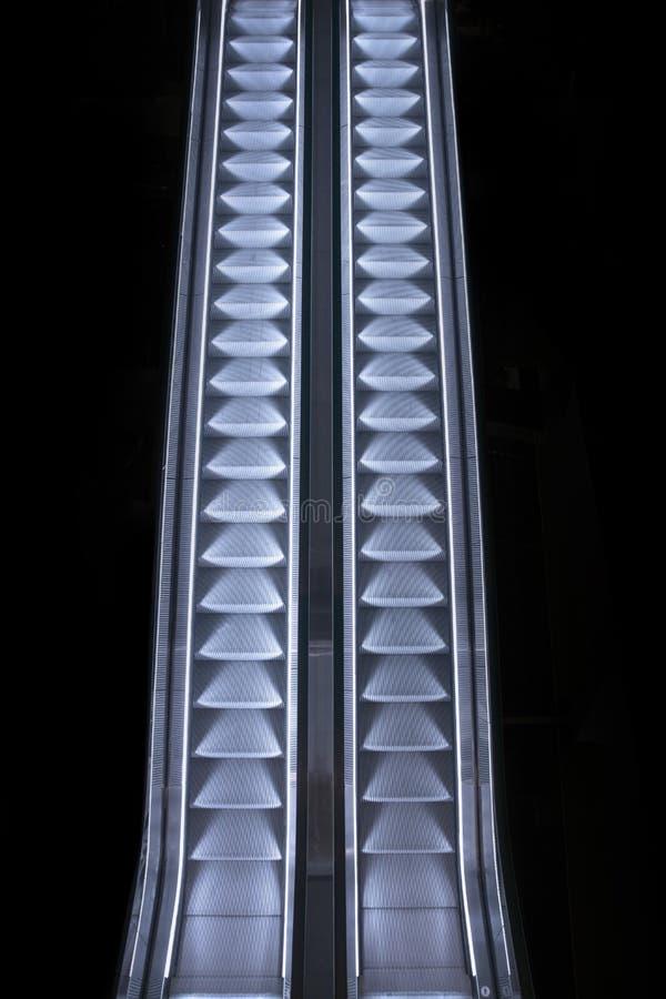 эскалаторы 2 стоковое фото rf