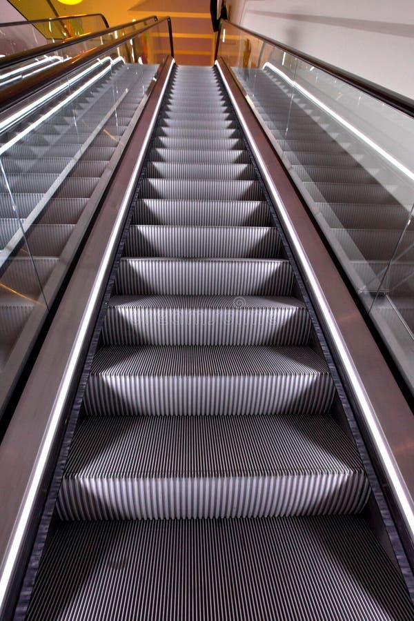 эскалаторы стоковое фото rf