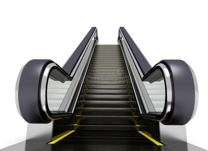 эскалатор иллюстрация штока