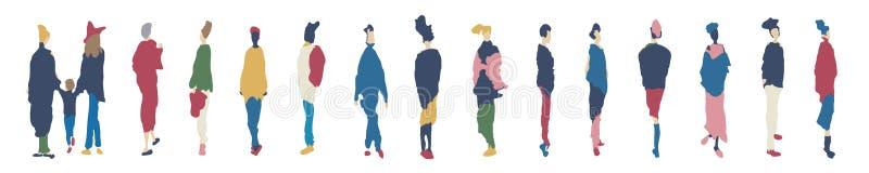 Эскизы стильных активных женщин бесплатная иллюстрация