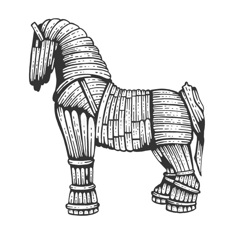 этом уроке троянский конь картинка срисовать это экстрасенсы, которые