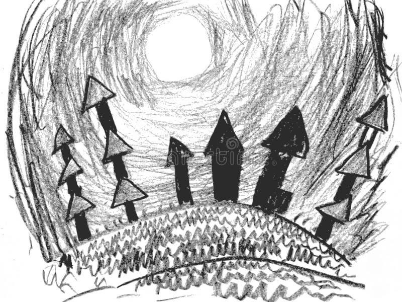эскиз общины бесплатная иллюстрация