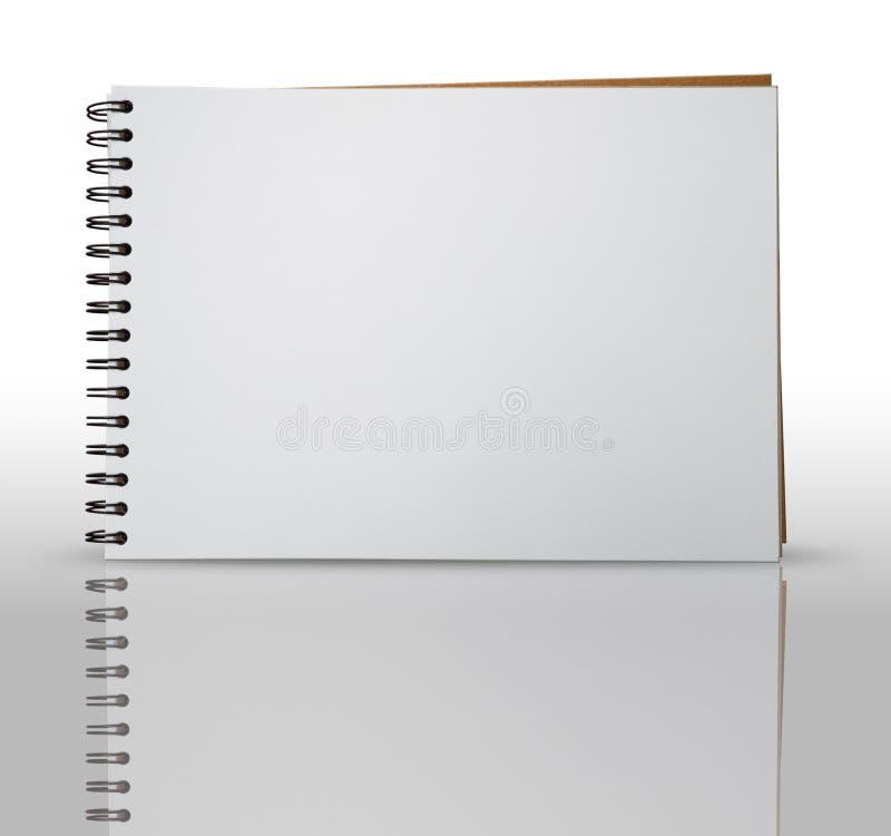 эскиз страницы книги одного стоковые изображения rf