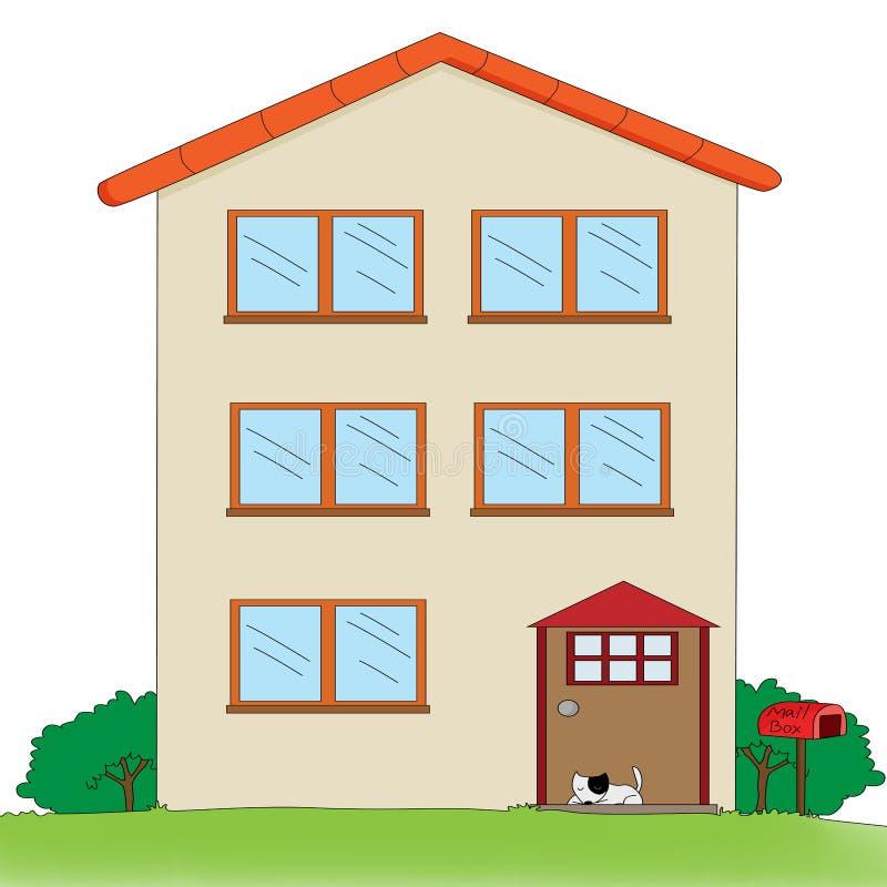 этаж дома multi бесплатная иллюстрация