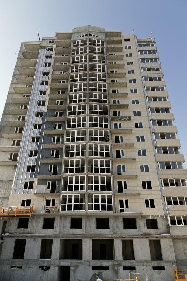 этаж конструкции здания multi вниз стоковые фото