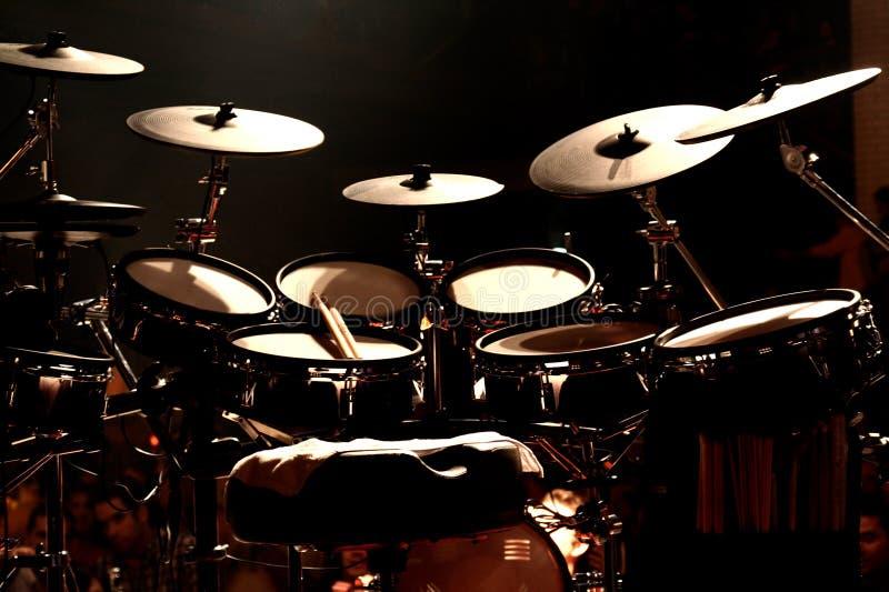 этап барабанчиков стоковая фотография rf