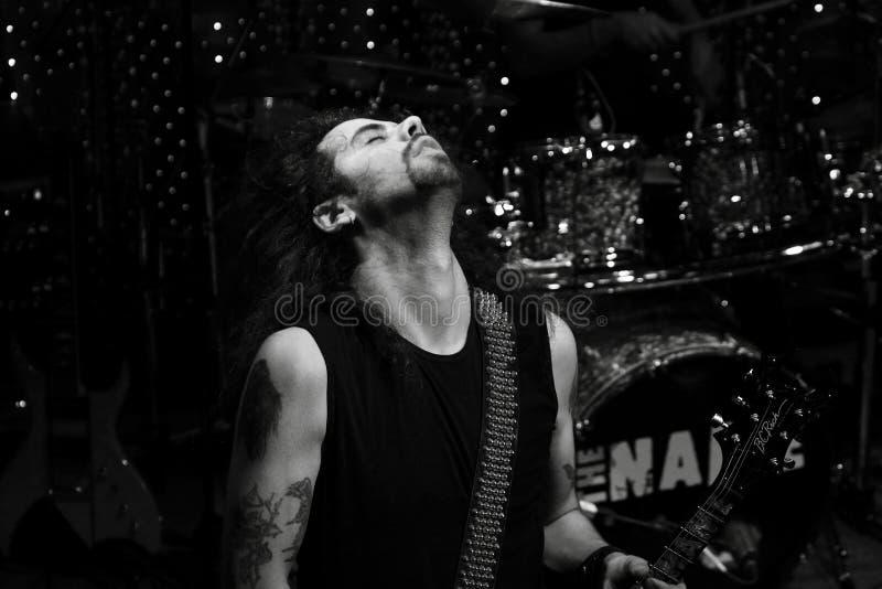этап игрока гитары стоковое фото rf