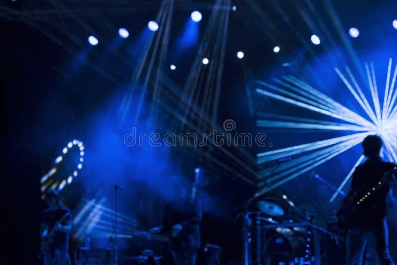 Этап концерта стоковые фотографии rf