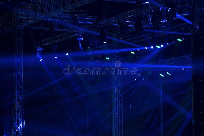 Этап концерта стоковое изображение