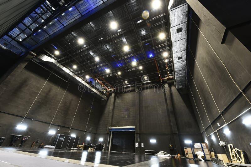 Этап национального большого театра фарфора в Пекин стоковые изображения